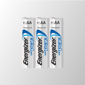 Energizer Ultimate Lithium AA Battery 3 Pack