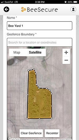 Geofence yards